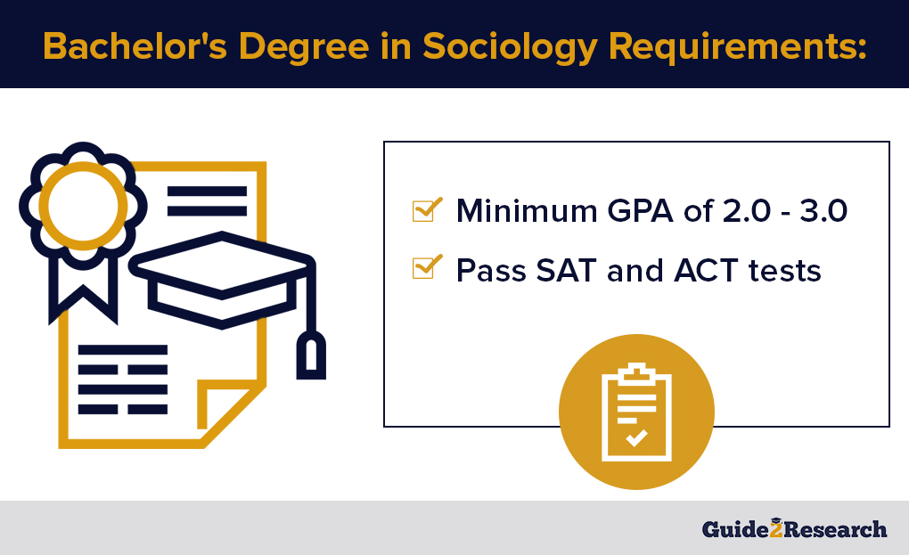 bachelor's degree in sociology requirements
