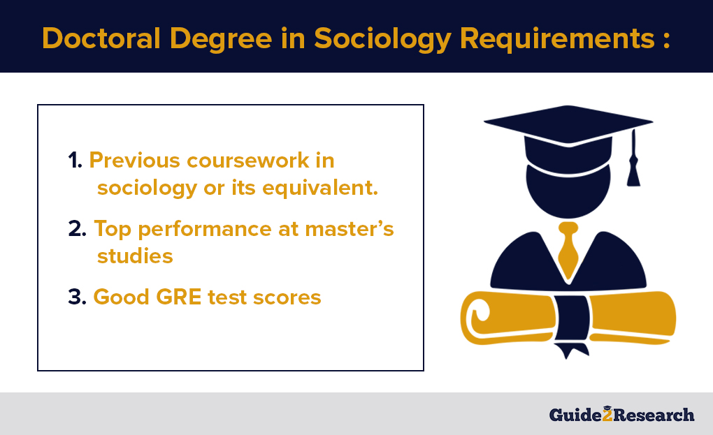 doctoral degree in sociology requirements