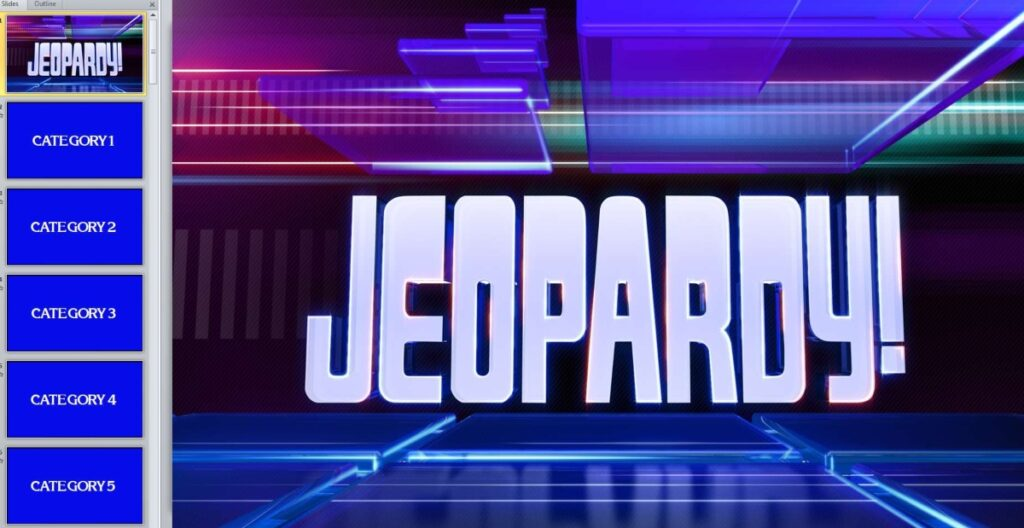Jeopardy Template Review Game From Conor Bradley