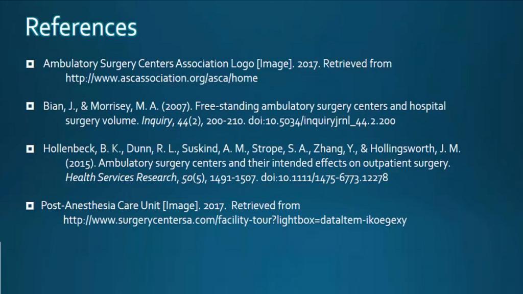 APA citation - reference slide